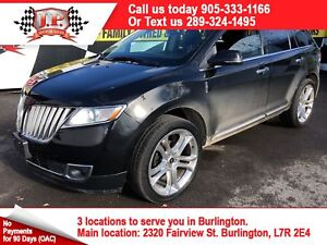 2014 Lincoln MKX Automatic, Navigation, Leather Pan Sunroof, AWD