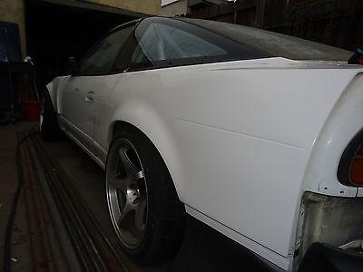 180SX KOGUCHI STYLE REAR OVERFENDERS +70mm (1989-1993 Nissan 240sx)