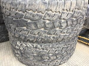 "LT325/60R18 10 ply used pair (33"")"