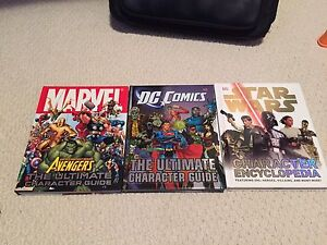 Marvel, DC, Star Wars Books