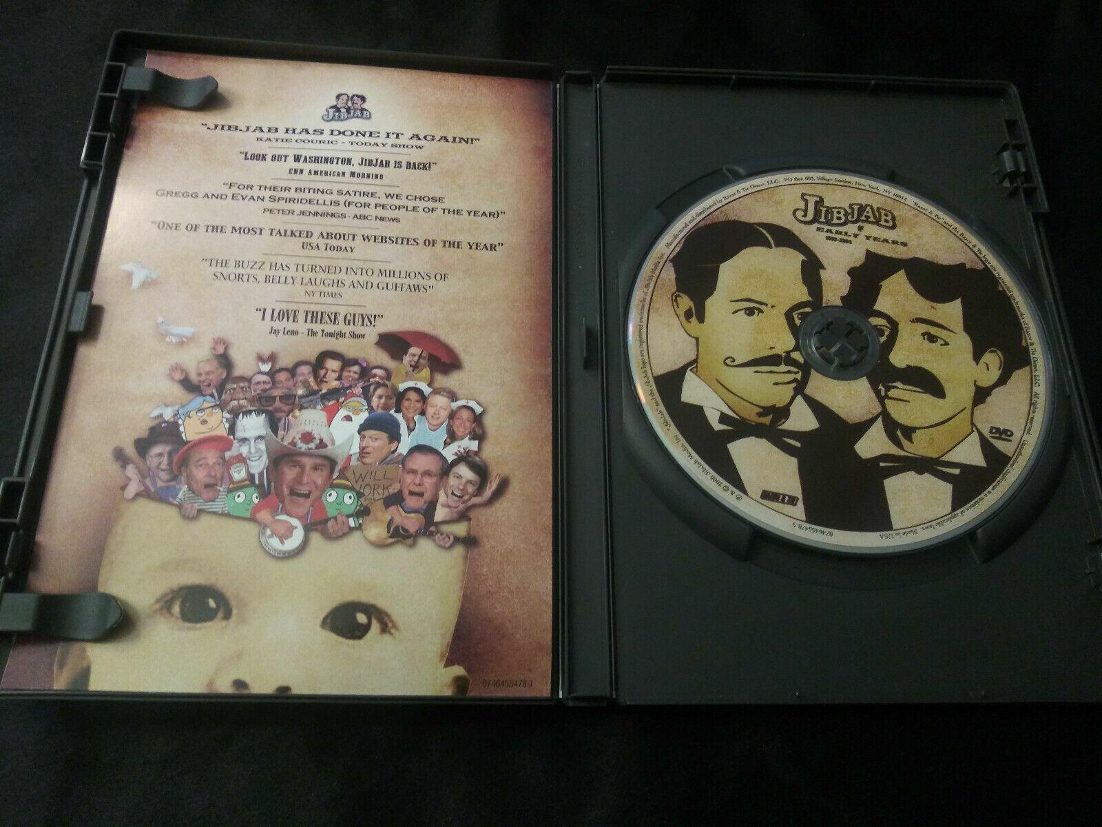 Jib Jab The Early Years DVD 1999-2004 Political Christmas George Bush Rare  - $10.00