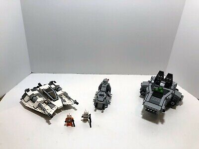 LEGO Star Wars LOT First Order Snowspeeder 75100 + Snowspeeder 75049 + 75078