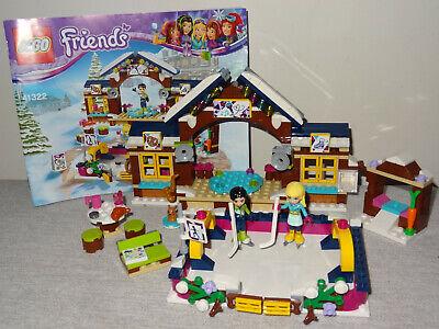 Lego Friends 41322 Snow Resort Ice Rink complete set