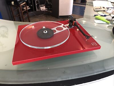 Rega P3 Solo Rosso Sigillato ( WITHOUT CARTRIGE) senza Testina (ONLY ITALY)