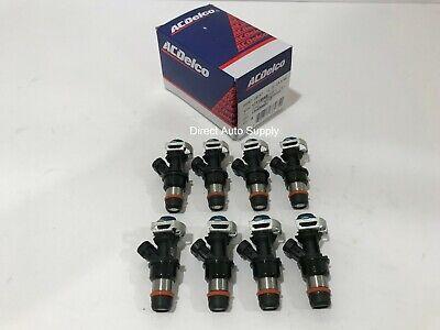 8 Fuel Injectors OEM for 01-07 GMC Cadillac Chevy 4.8L 5.3L 6.0L 17113553