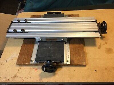 Vintage Mj Lawrence X-y Mill Table 7 X 11 For Drill Press Measuring Etc