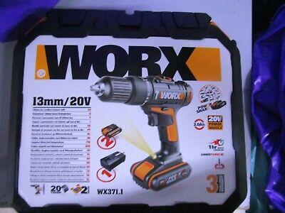 Taladro a bateria Worx WX371.1 13mm/20v NUEVO
