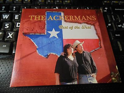 Best of the West by The Ackermans (CD, Jun-2013) Texas