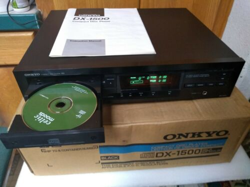 vintage Onkyo DX-1500 CD Player