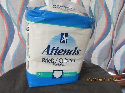 VINTAGE ATTENDS DIAPERS 1995(6 blue tapes) 2 diaper sets  smooth plastic