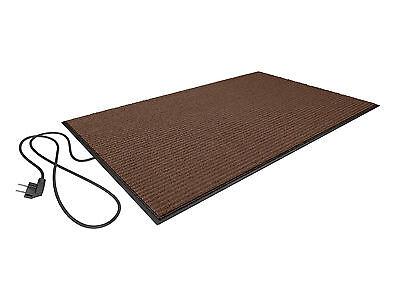 REMAINING STOCK -  Heated Carpet 50W - Brown - 80 x 50 cm