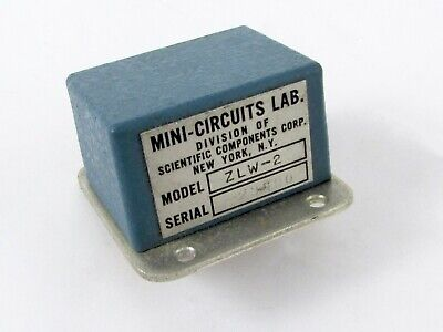 Mini-circuits Zlw-2 Frequency Mixer 1-1000 Mhz Level 7 Lo Power 7dbm Sma F