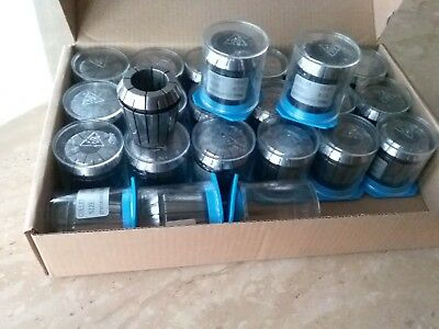 23pcs ER40 metric collet set, collets 4mm - 26mm, 0.008mm TIR #ER40-SET23M-NEW