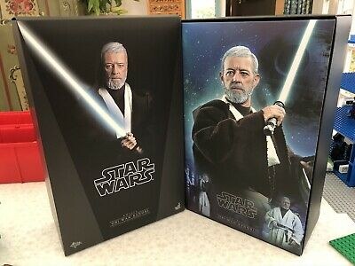 Sideshow Hot Toys Star Wars A New Hope MMS283 1/6 Obi-Wan Kenobi Alec Guinness