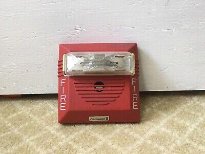 Rare Gamewell 72028 Wheelock Ns Multi-candela Fire Alarm Horn Strobe Read