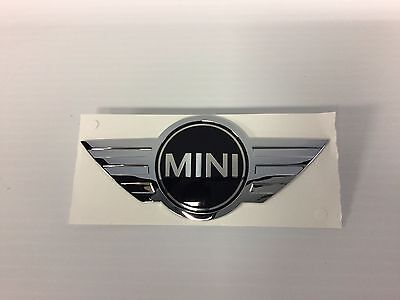Mini Cooper Rear Hatch Emblem 51 14 7 026 186