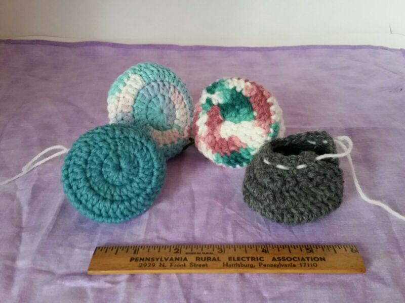 Door Knob Covers-Child Proof-Safety Cozy Set of 2 crochet in multi-color options