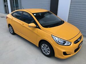 AS NEW 1 OWNER AUTOMATIC ACTIVE EDITION 2016 HYUNDAI ACCENT TRAVELLED ONLY 13,256 KMS Eagle Farm Brisbane North East Preview