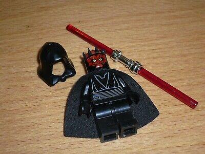 LEGO (31) STAR WARS Figur Darth Maul 7961 mit Laserschwert und Kapuze