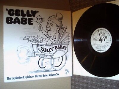 Blaster Bates Vol.6 LP. 'Gelly' Babe. Big Ben BB 00.11. 1975. Exc.
