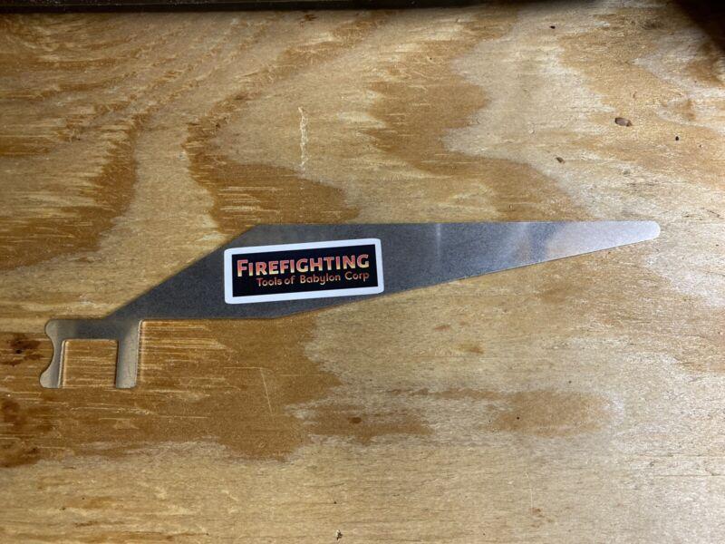 The FirePik - 2020 Version Of A Firefighter Shove Knife