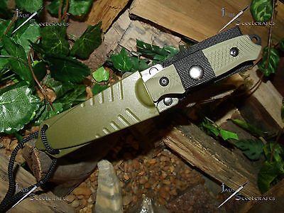 Survivor/Belt/Boot/Leg/Neck/Knife/Full tang/Ultra Concealable/Survival/Zombie/GN