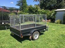 8 x 5 Box Trailer with 300mm sides and cage - Aussie Built Penrith Penrith Area Preview