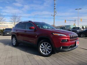 2017 Jeep Cherokee LIMITED 4X4**ADAPTIVE CRUISE CONTROL**