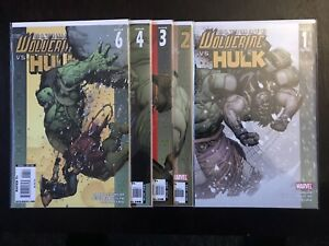ULTIMATE WOLVERINE VS HULK #1-6 (2009) FULL RUN LOT COMPLEAT