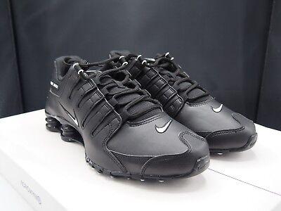 Nike Shox NZ EU Triple Black 501524-091 Men s size 10 US 2a0a779ed
