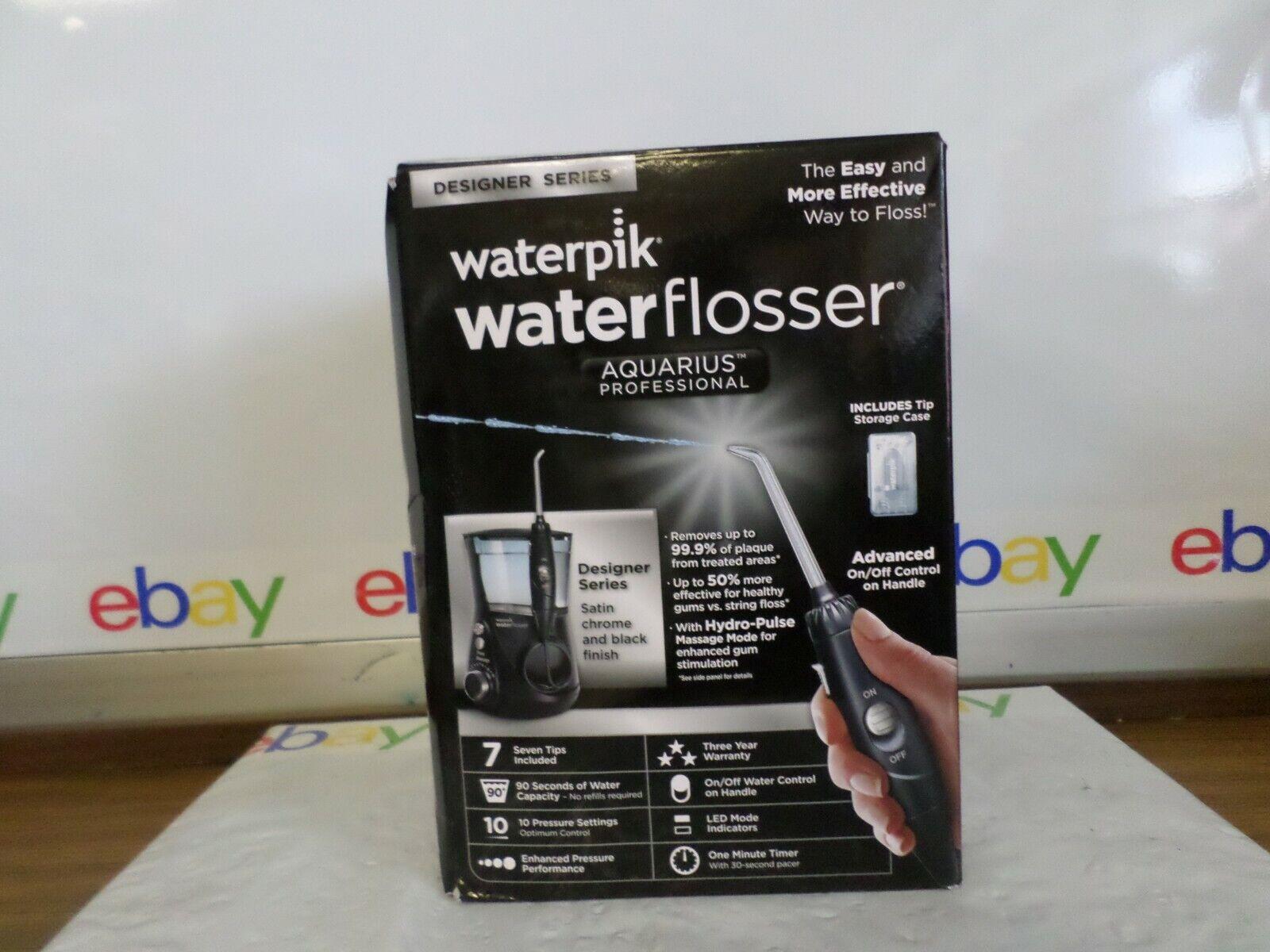 waterflosser aquarius professional black model wp 672c