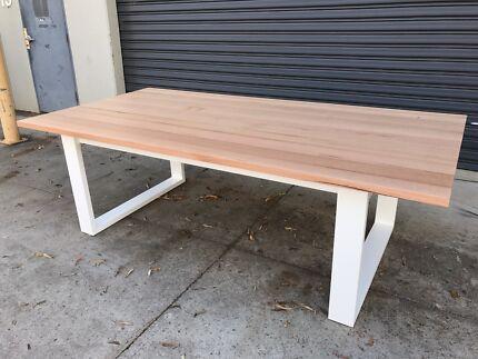 Australian Made Solid Tassie Oak Hardwood Timber Mosman Dining Table