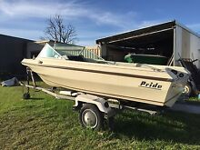 Pride Premier 15ft Runabout Hull & Trailer only Warwick Southern Downs Preview