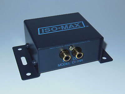 Used Jensen Iso-Max CI-1RR 1Ch Mono Audio RCA Ground Loop Isolator Transformers ()