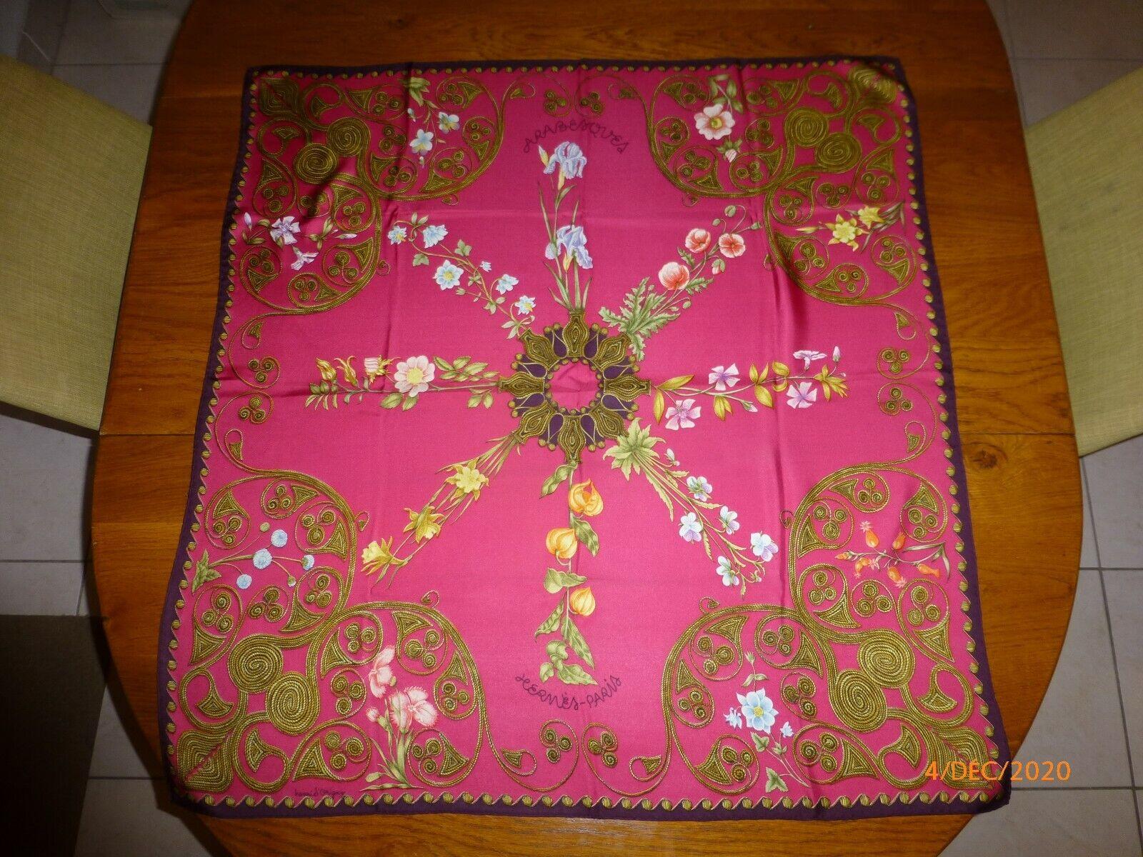 Carré, foulard hermès, modèle arabesques