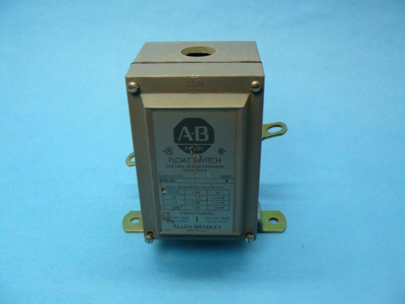Allen Bradley 840-A4 Float Switch 1 NO/1 NC NEMA 4 New