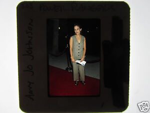 AMY JO JOHNSON 35mm slide transparency UNPUBLISHED Power Rangers 1