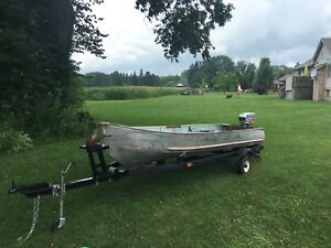 14' Aluminum BOAT ONLY