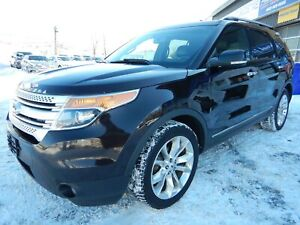 2013 Ford Explorer XLT 7 PASSAGERS 4X4 LEATHER NAVI