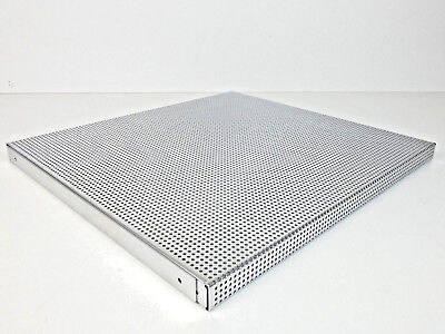 HiFi-Boden 45x49x2,8cm Regalboden Hifi-Rack HiFi-Regal Lochblech Gitterregal ()