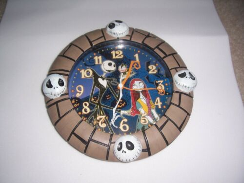 Touchstone Pictures Nightmare Before Christmas Wall Clock