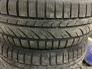 Winter tires  with steel rims