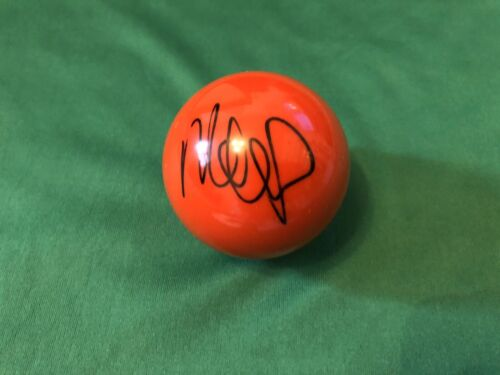 Signed Snooker Ball Mark Williams