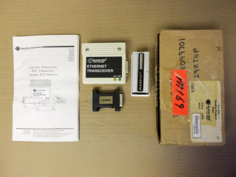New Black Box Ethernet Transceiver LE005A / LE003A A980977538 Fire Alarm