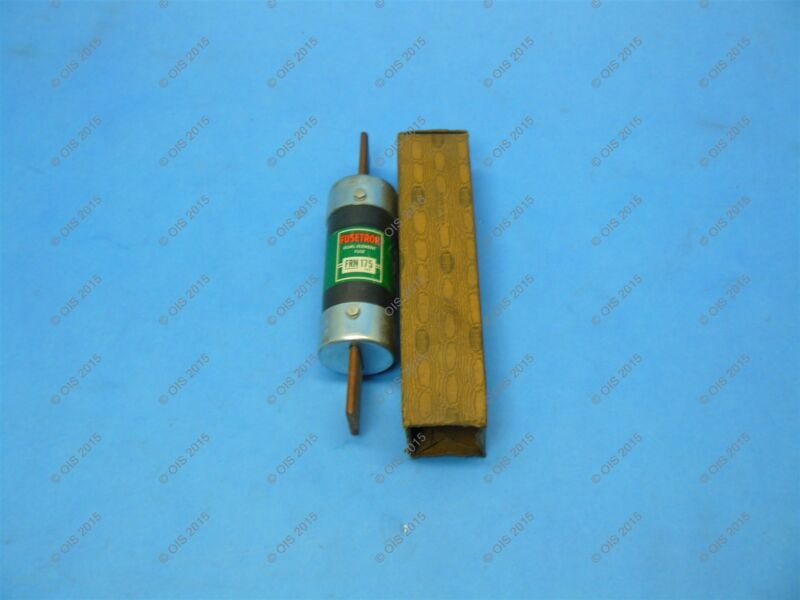 Bussmann FRN-175 Time-delay Fuse Class 175 Amps 250 VAC/125 VDC New