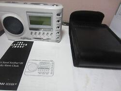 Sharper Image Travel Soother 20 Radio Ipod Clock Si721 WHITE  # 7419 u