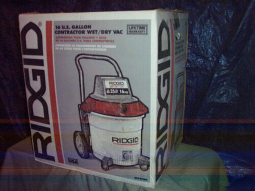 Ridgid....wet / dry vac....16 gal....6.5 hp....NEW...local pick up..Atlanta, Ga.