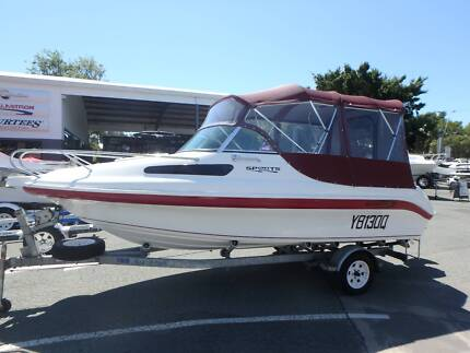 2013 Baysport 545 Sports + Yamaha 90hp Oil Inj. 2-Stroke (50hrs) Boondall Brisbane North East Preview