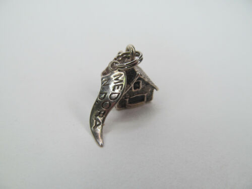 Vintage Sterling Charm from Medora, North Dakota ND - Pacific Jewelry