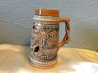 Vintage Ceramic Beer Stein, Made in Japan